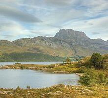 Slioch Across Loch Maree by Jamie  Green