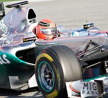 Michael Schumacher 2011 by SHUTTERBLADE