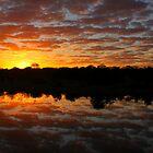 sunrise reflection by PBreedveld