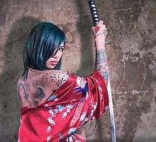 Geisha Punk 1 by n23art