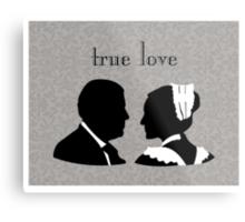 Anna and Bates true love Metal Print