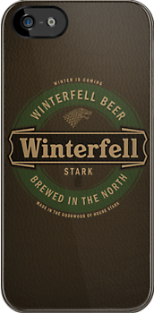 Game of Thrones - Winterfell iPhone case by satansbrand