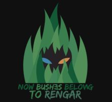 Bushes belong to Rengar by Imperonism
