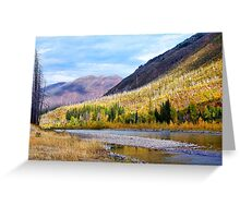 Glacier Park Autumn 4 Greeting Card