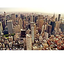 New York City From Above Photographic Print