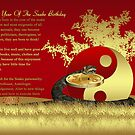 Year Of The Snake Birthday Greeting Card by Moonlake