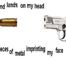 Flashy metal piece Sticker