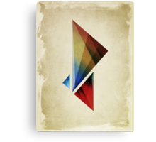 Triangularity  Poster  Canvas Print