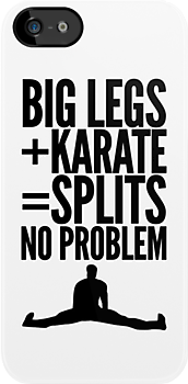 BIG LEGS + KARATE by 91design