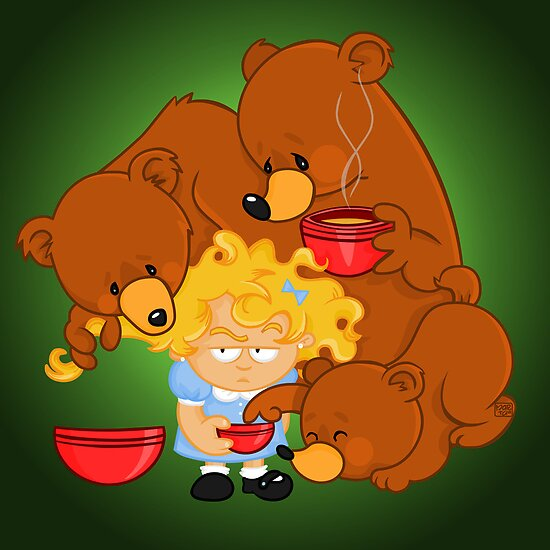 Goldilocks and the Three Bears by alapapaju