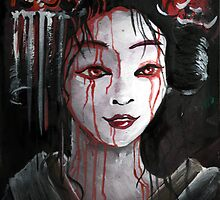 Geisha in Blood: The unwiling Concubine by Barbora  Urbankova