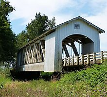 Gilkey Covered Bridge - Linn County, OR by Rebel Kreklow
