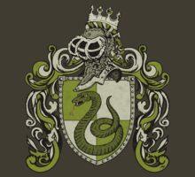 Heraldic snake by ZugArt