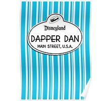 Dapper Dans Nametag - Blue Poster