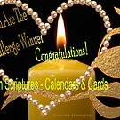 A banner for the Winner in Art with Scriptures for calendars & Cards  by aldona