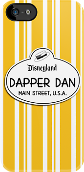 Dapper Dans Nametag - Orange by jdotcole