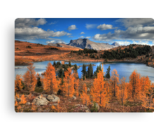 Autumn in high altitude (HDR) Canvas Print