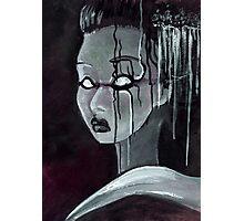 Geisha in the Machine: The Illusional Concubine Photographic Print