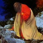 The agony of Jesus Christ'... by Valerie Anne Kelly