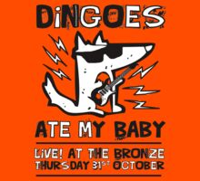 Dingoes Ate My Baby | Buffy The Vampire Slayer Band T-shirt by Jessica E Pattison