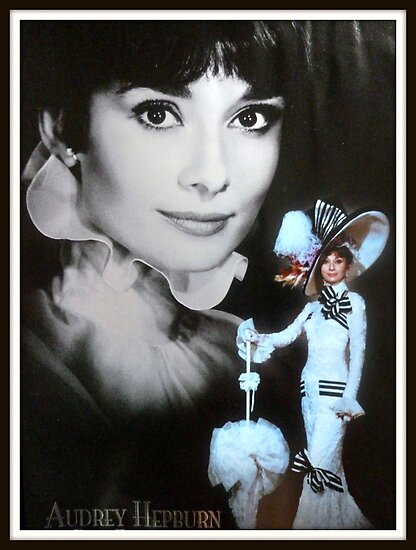 Audrey Hepburn ~ My Fair Lady by ©The Creative  Minds