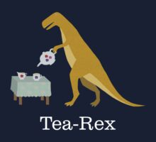Tea-Rex by HeliconHill