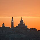 Dawn over Sacre Coeur by Michael Brewer
