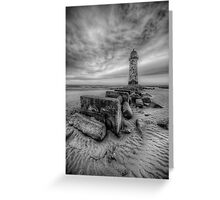 Welsh Light House Greeting Card