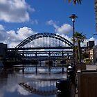 Newcastle Quayside by Giorgio Elesaro