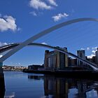 Millennium Bridge: Newcastle by Giorgio Elesaro