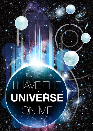 I&#x27;ve got the universe on me by hazelong