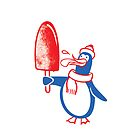 Popsicle Penguin by drawgood