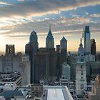Philadelphia Skyline by PHLBike