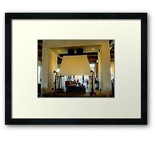 Early Mountain Vineyard - Lobby Framed Print