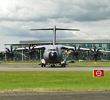 Airbus A400M - Atlas F-WWMZ by Barrie Woodward
