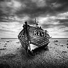 Old fishing boat by Dean Bedding