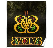3volv3 Butterfly Poster