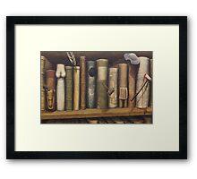 Bibliomania Framed Print