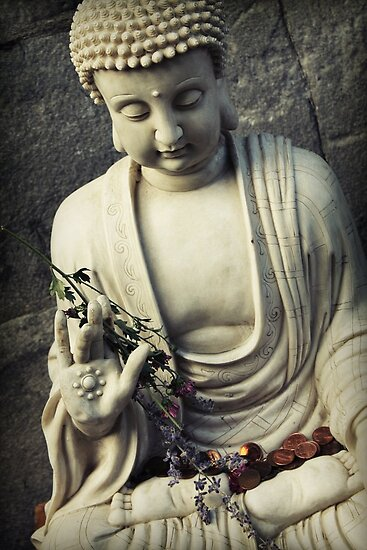 Buddha by Caroline Fournier