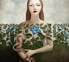 Eva and the Garden  by ChristianSchloe