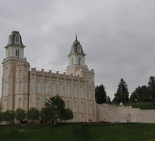 Manti Temple by blue42