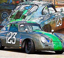 1958 Porsche 356A by Stuart Row