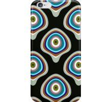 BubblePatternBlack iPhone Case/Skin