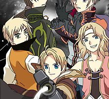 Hetalia x Tales of Series by ninjamage02