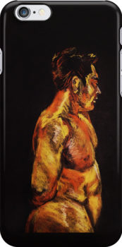 Man in Orange by Zack Nichols