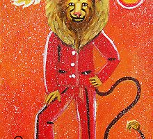 Leo * 23 July - 23 August * element fire * planet Sun * outgoing, protective, just * by Krokokaro
