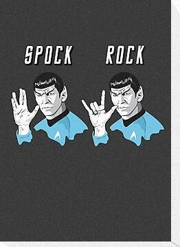 Star Trek Spock Rock by Creative Spectator