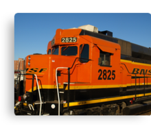 Big Orange Engine Canvas Print