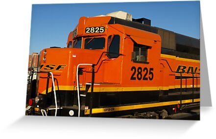 Big Orange Engine by Scott Hendricks