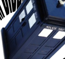 doctor who theme Sticker